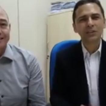 40 mil visualizações: ADRIANO RAMOS E DR.  ADALBERTO AGRADECEM PELO APOIO