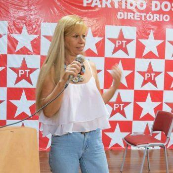 ROSANE OLIVEIRA ASSUME PRESIDÊNCIA DO PT EM PARANAGUÁ