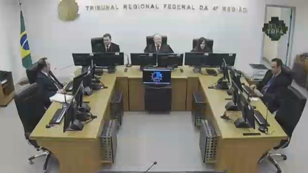 Sessão de Julgamento do TRF da 4a Região